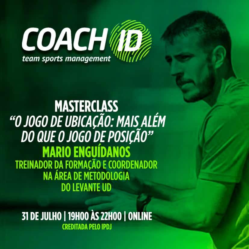 Masterclass com Mário Enguídanos - El Juego de Ubicación